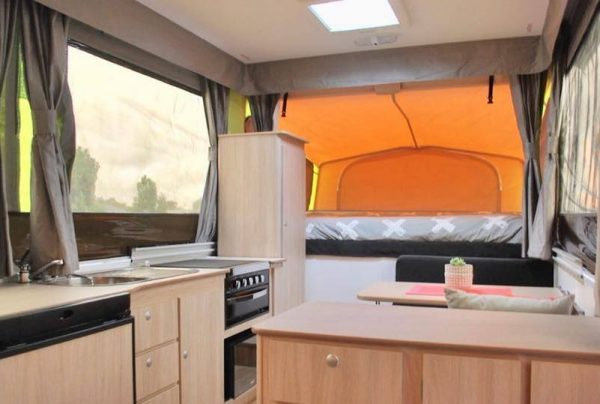 Jayco Swan Outback Interior