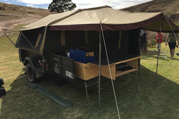 2011 Sar Major Camper Trailer