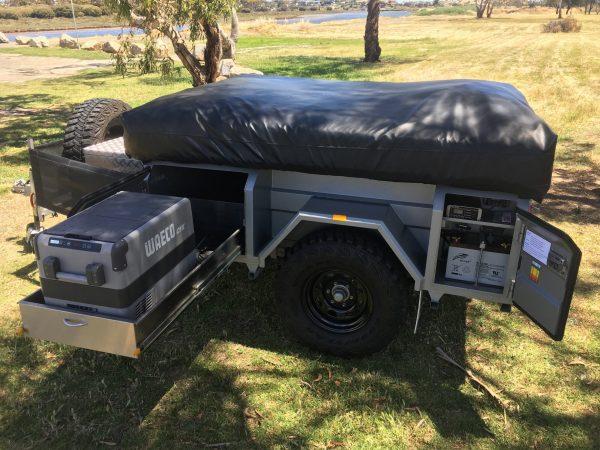 Johnno's Off Road Camper Trailer Access Make Trax