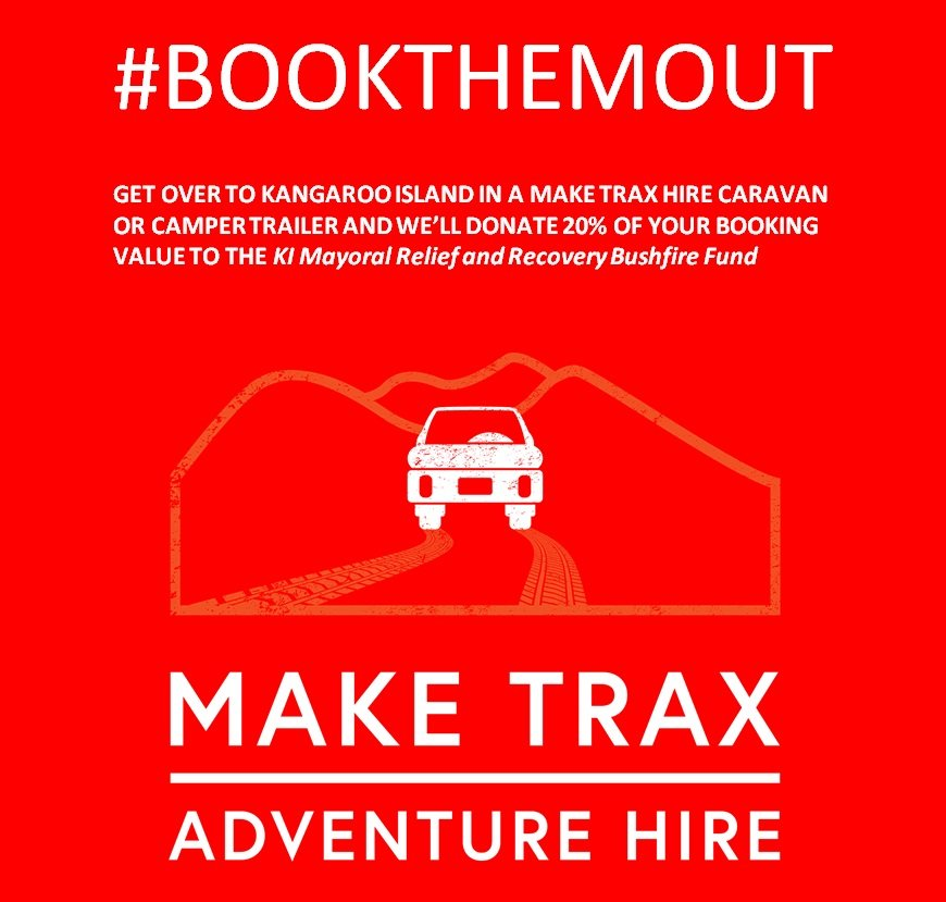 #BOOKTHEMOUT – Let's Support KI
