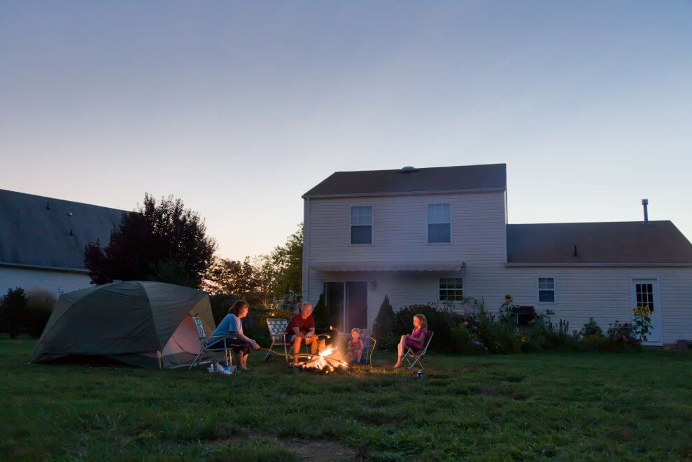 Backyard Camping this EASTER & SCHOOL HOLIDAYS – 50% Off Deal